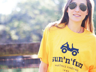 Sunnfun shirt model
