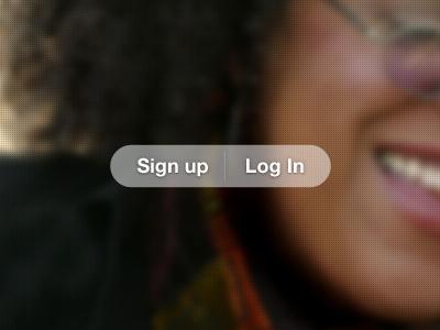 OpenCoach signup/login opencoach navigation web design interface design ui design