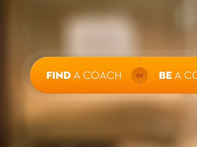 Revised Call To Action design opencoach navigation web design interface landing page ui ux branding ui design button