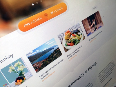 Homepage updated opencoach navigation web design interface landing page ui ux homepage call to action design ui design