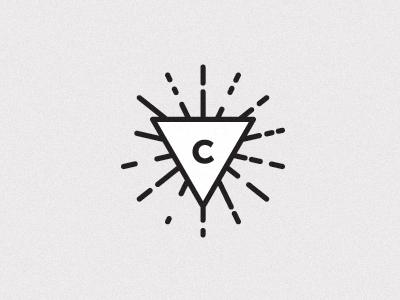 brand icon logo branding logo design minimal clean icon triangle geometric focus lab design