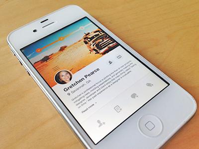 Mobile Coach coaches web design interface ui iphone focus lab mobile responsive app design ui design