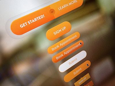 Button Style Sheet design opencoach navigation web design interface ui buttons calls to action focus lab