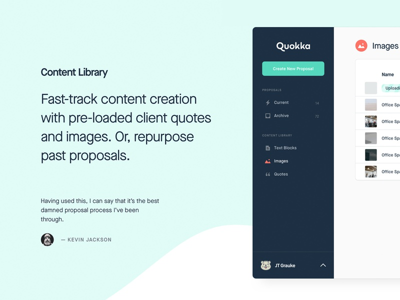 Quokka Content Library quokka content library focus lab save time speed proposal propsals