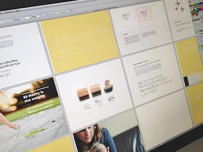 Style Guide style guide typeface logo design branding photographer focus lab design print