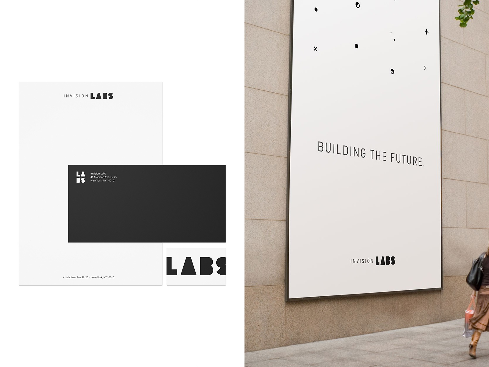 Invision labs branding