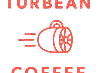 Coffee Power design logo design logo branding coffee turbine texture focus lab
