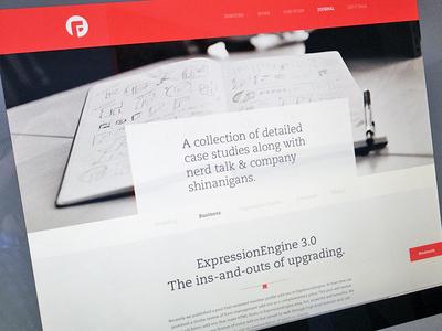 New Blog design simple write stuff fresh focus lab clean shiny blog