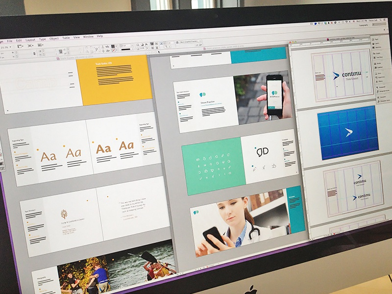 Style Guide Mania design layout standards brand guidelines branding focus lab style guides logo design logotype identity brand book logo print