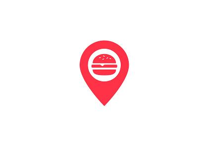 Food design branding simple food locations sharing logo logo design focus lab tag social