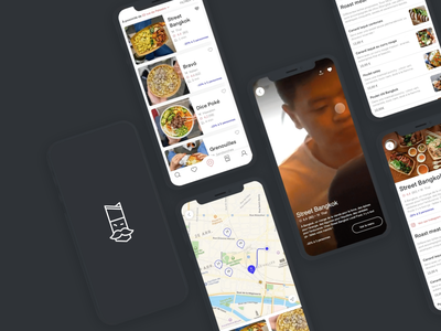 @foodeaseparis • DA & Product Design app mobile food icon design foodie ux product lunch food app interaction motion design idenitity ui design ui animated animation interactive motion interaction design design