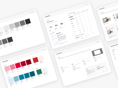 SeLoger • UI & Design system component library uidesign atomic design guidelines design system components ui library product real estate branding ui design ui design