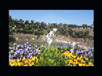 Enchanted Garden cover art blog post pixel art thumbnail design graphic design