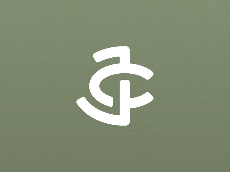 JC monogram monogram logo