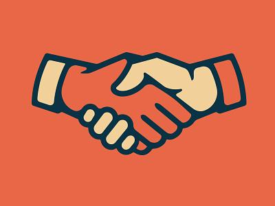 Shakes handshake