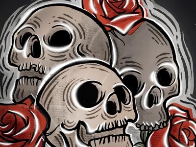 Procreate Skulls skulls procreate