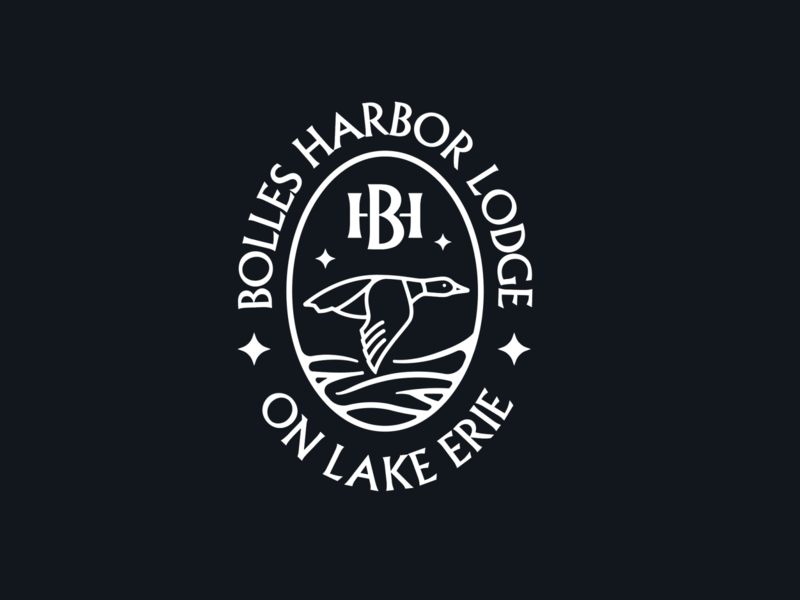 Unused Lodge Badge Concept illustration logo