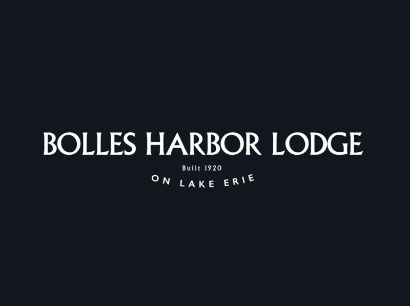 Unused Bolles Harbor Lodge wordmark