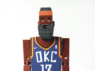 Nike Basketball James Harden Doll