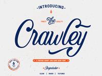 Crawley Vintage Script Font