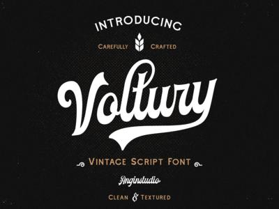 Voltury Script Font