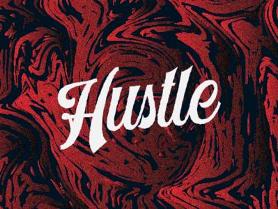 Hustle custom font design typography classic vintage script design typeface display font