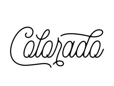 Colorado Monoline Script