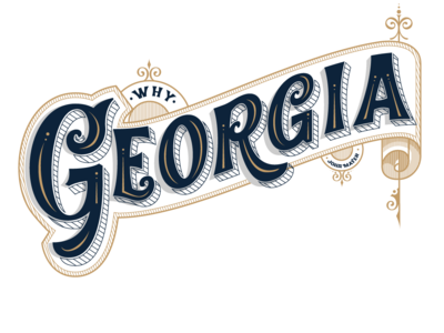 Handlettering Why Georgia John Mayer typedesign lettering font design vintage classic typeface typography display font design