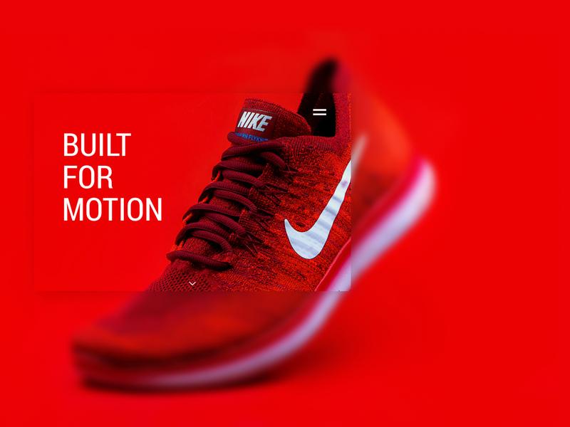 Nike Promotion Ad clean design minimalism nike concept ads design