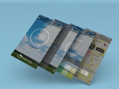Weather Apps Design
