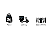 Restaurant Services Icons