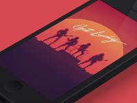 Get Lucky iPhone Wallpaper