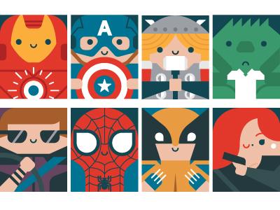 Avengers 2 hawkeye captain america wolverine hulk spiderman iron man superhero black widow thor avengers illustration vector