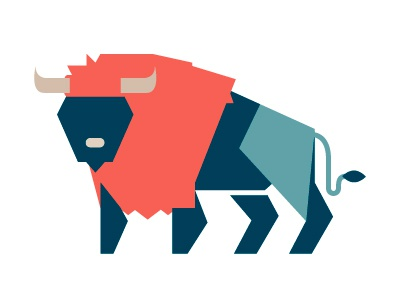 Buffalo vector illustration buffalo