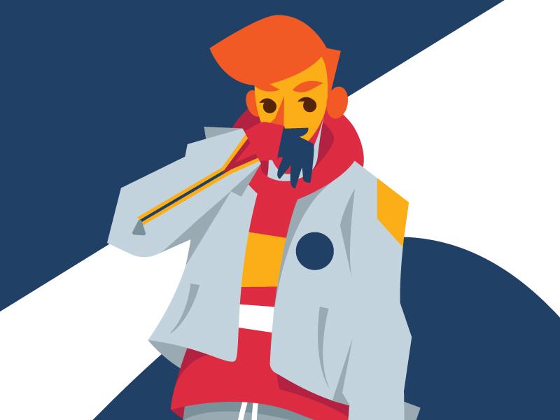Boy fashion boy illustration vector