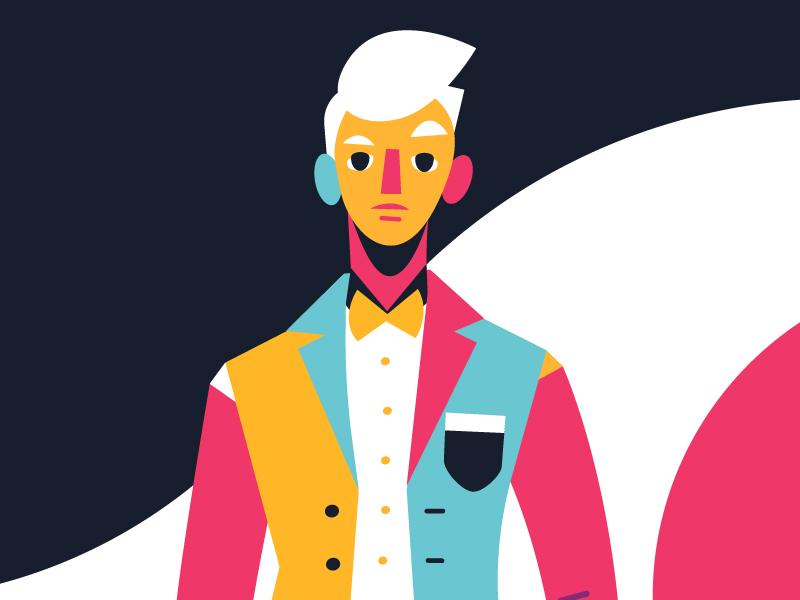Man man fashion illustration vector