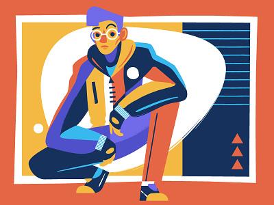 Boy 6 Alt boy art fashion illustration vector