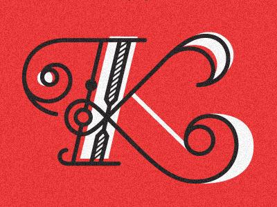 K2 vector typography k