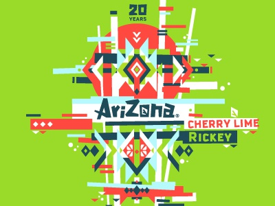 Arizona Can Study 3 vector illustration arizona tea cans logo branding packaging