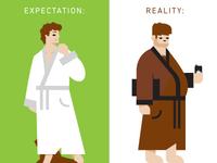 Expectation v. Reality