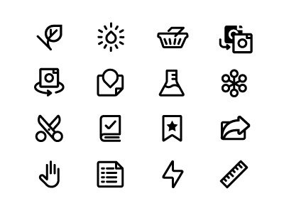 Icons rejects