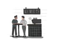 [Graphic] Cafe, Urban