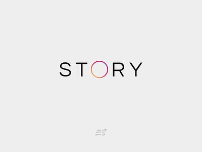 STORY like minimal instagram stories instagram post instagram icon vector typography logo flat graphicdesign design