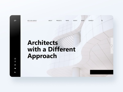 Red Line Agency Landing Page