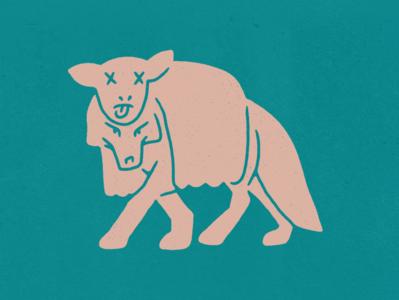 Deceit sheep wolf photoshop procreate design illustration