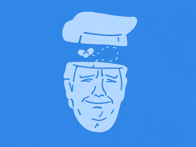 Shithead usa impeachment shit trump character design illustration