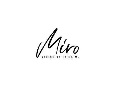 Medical wear brand logo branding logo fashion minimal design