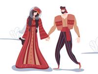 Armenian family