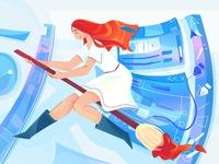 in the world of illustrator