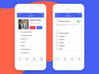 File Manager Playlist and Settings